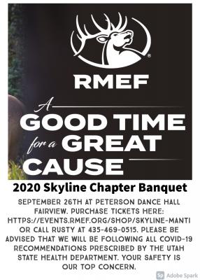RMEF Skyline Chapter Banquet