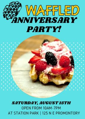 Waffled Anniversary Party