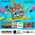 Southtown Back to School Drive In Concert