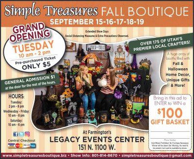 Simple Treasures Fall Boutique in Farmington