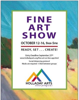 Call for Entries: Holladay Arts Council Fine Art Show