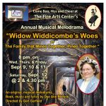 2020 Melodrama: Widow Widdicombe's Woes -or- The Family that Mines Together, Pines Together