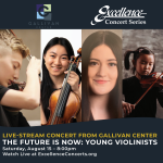 Live Stream Concert: The Future is Now - Young Vio...