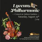 Lyceum Philharmonic Concert at Ashton Gardens