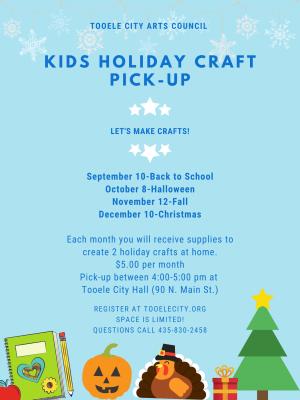 Kids Holiday Craft Pick Up - December