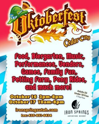 2020 Oktoberfest - Cedar City