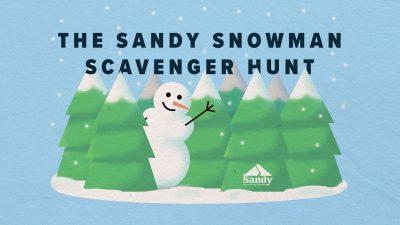 Sandy Snowman Scavenger Hunt 2020- VIRTUAL
