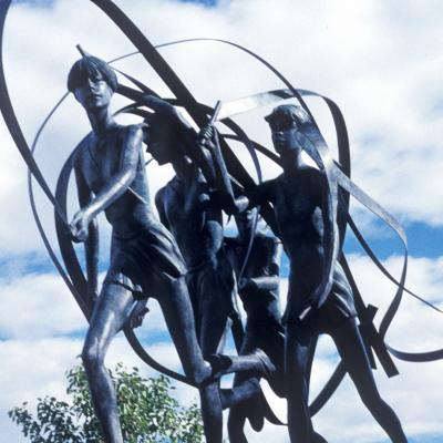Four Dancing Figures