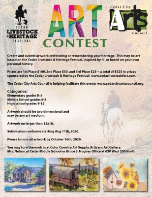 Call for Art: Cedar Livestock Heritage Art Contest