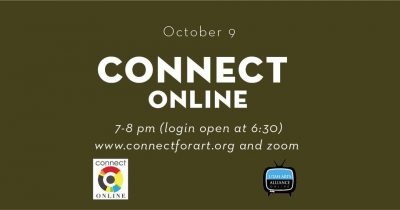 Connect at Urban Arts Gallery- ONLINE