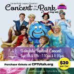 Fairytale Festival Concert in the Park(-ing lot)