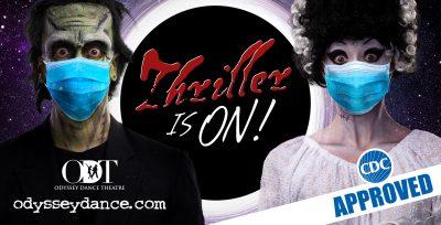 """Odyssey Dance Theatre's """"Thriller"""""""