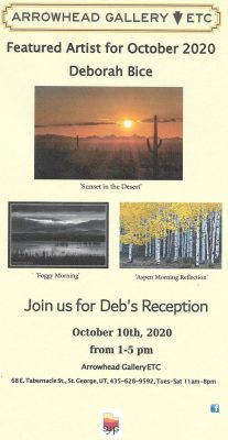 October's Featured Artist of the Month - Deborah B...