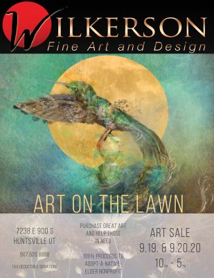 Art on the Lawn –A Bridge of Hope for Navajo Eld...