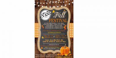 Evans' Acres Mini Farm Fall Festival
