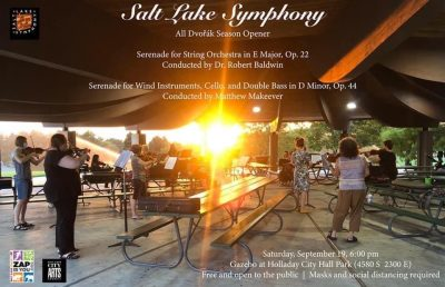 Salt Lake Symphony outdoor concert