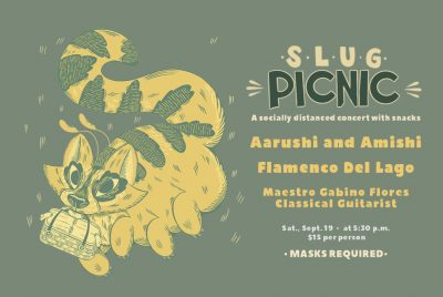 SLUG Picnic: Aarushi and Amishi, Flamenco Del Lago...