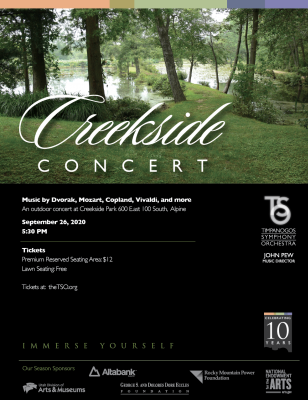 Timpanogos Symphony Creekside Concert