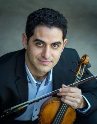 Arnaud Sussman, violin