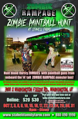 Zombie Rampage Paintball Hunt!