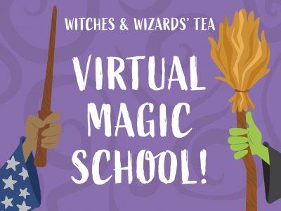 Witches & Wizards Tea Virtual Magic School