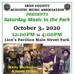 Saturday Concert in the Park
