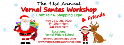 Vernal Santa's Workshop and Craft Fair 2020