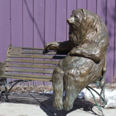 Franz the Bear Bench