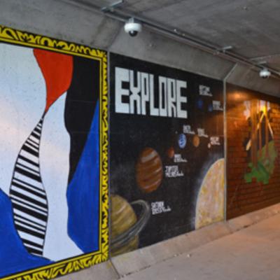 Mural Kearns Tunnel at Comstock