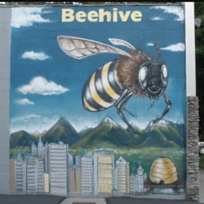 Beehive Bail Mural