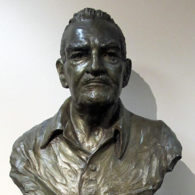 Bust of LeConte Stewart
