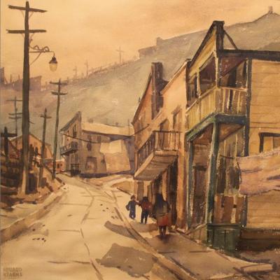 A Street in Bingham