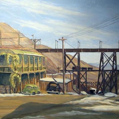 Bingham, Utah II (bridge)