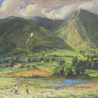 Landscape with Kite