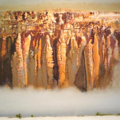 Desert Fog Bank