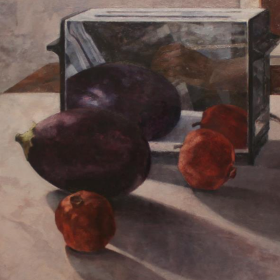 Egg Plant and Pomegranate