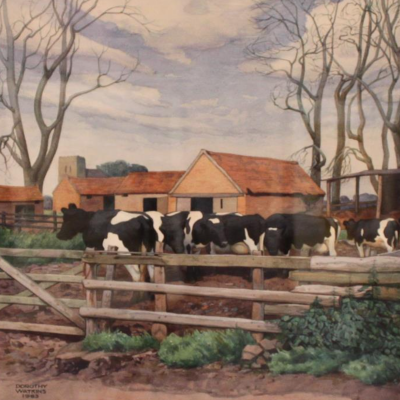 An English Farm Yard