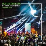 KRCL Presents: Talia Keys & The Love 9th Annual Halloween Bash -LIVESTREAM