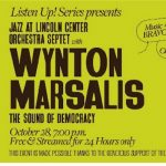 Virtual Jazz at Lincoln Center Orchestra Septet with Wynton Marsalis: The Sound of Democracy