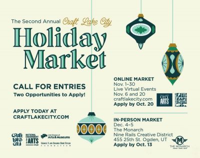 Call for Entries: Craft Lake City Holiday Market 2020