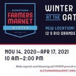 Downtown Winter Farmers Market 2020-2021