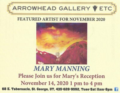 Arrowhead Gallery Featured Artist of the Month Pre...