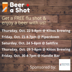 Beer and a Shot Flu Shot Clinic