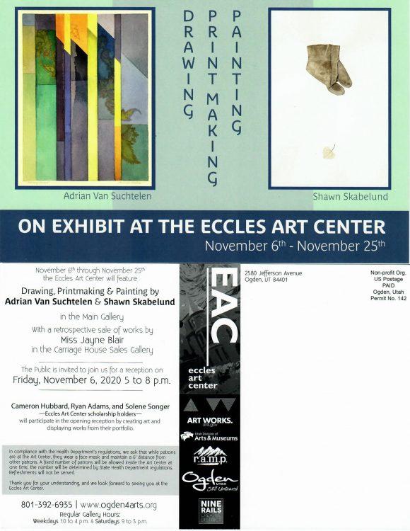 Exhibit: Drawing, Printmaking, Painting Adrian Van...