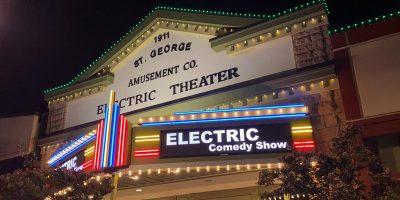 Electric Comedy Halloween Anniversary!