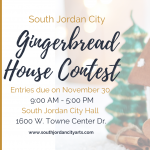 2020 Gingerbread House Contest