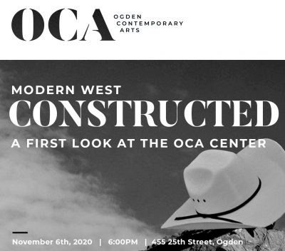 Modern West Constructed, A Virtual First Look at the OCA Center