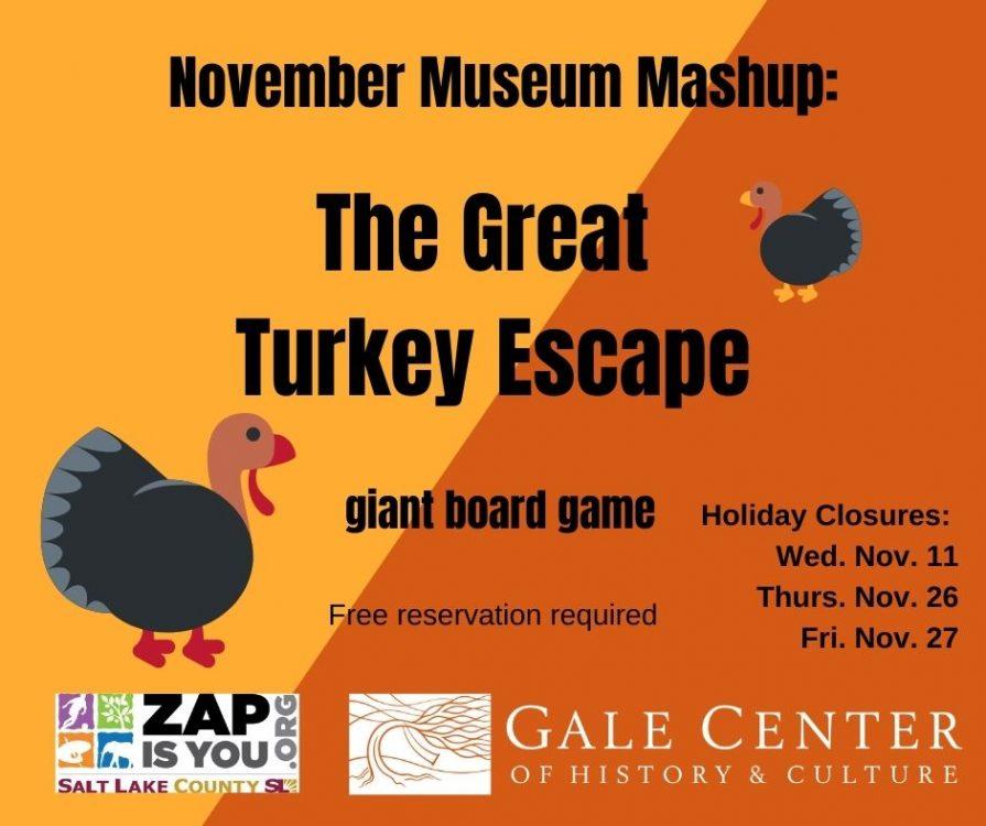 POSTPONED The Great Turkey Escape