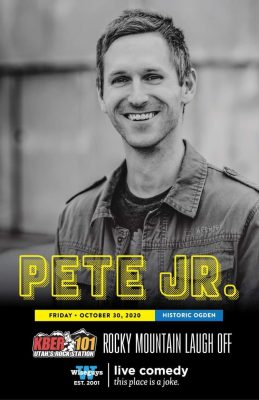 Pete Jr Headlining WiseGuys Comedy Club