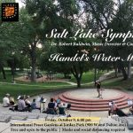 Salt Lake Symphony October Concert